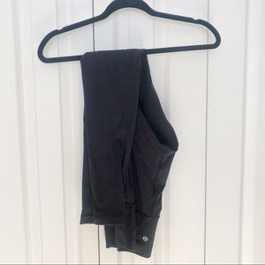 Lululemon wonder under full length black legging